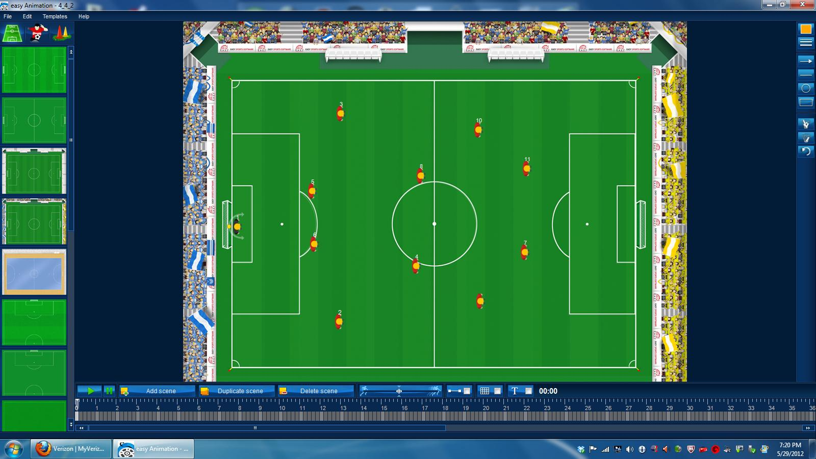 Soccer Animation Graphics Software Coaching American Soccer
