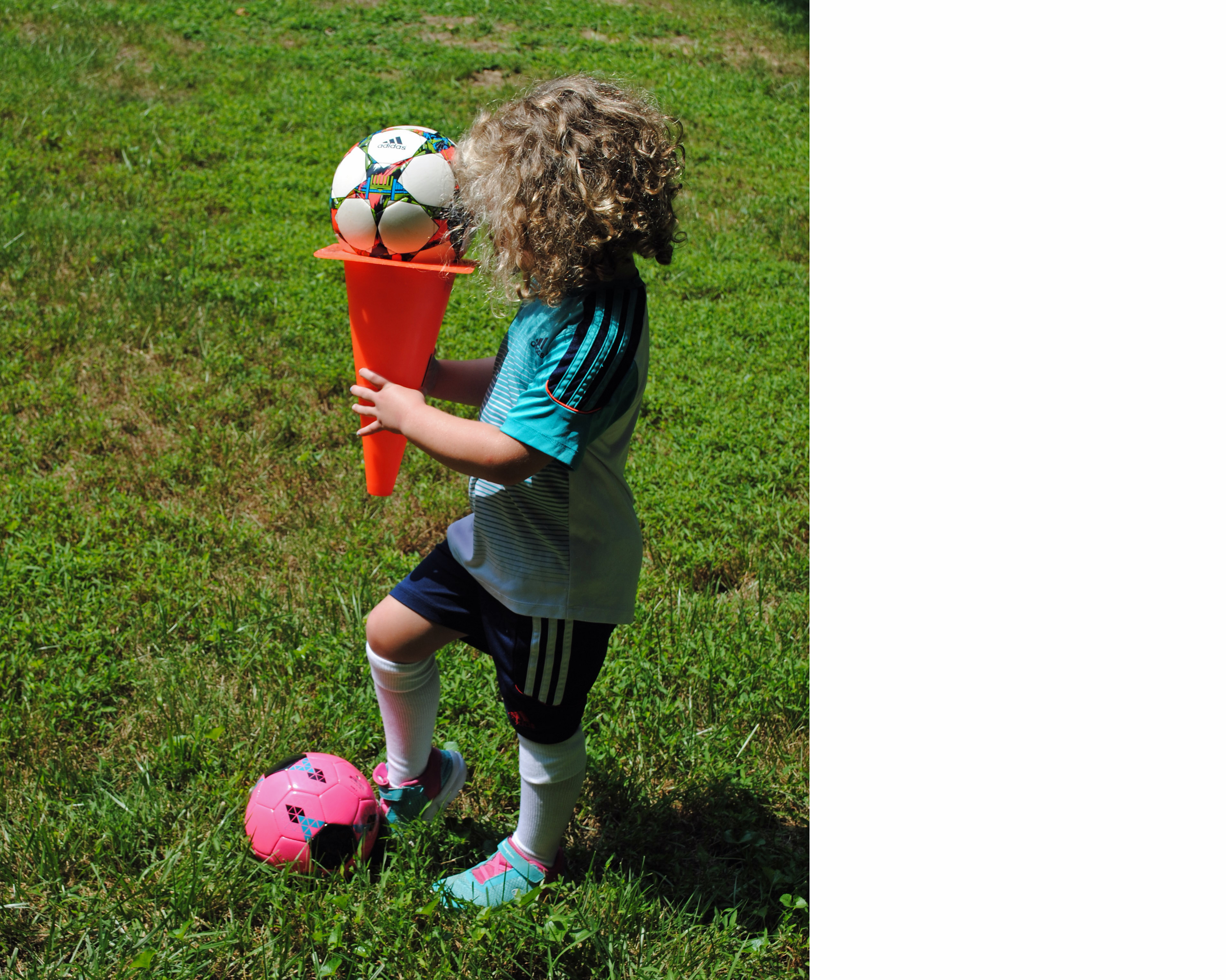 """c76d7595a08 """"Ice Cream Cone"""" Fun Soccer Game (c) 2018 CoachingAmericanSoccer.com"""
